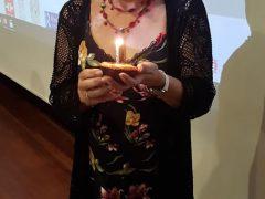 Concha Moreno en la celebración de 30 aniversario del congreso